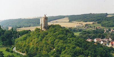 Burg Saaleck in Naumburg Saaleck