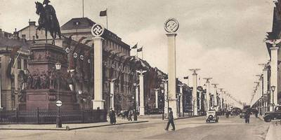 Reiterstandbild von König Friedrich II. v. Preußen in Berlin