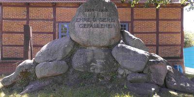 Deutsches Kriegerdenkmal Remplin in Malchin Remplin