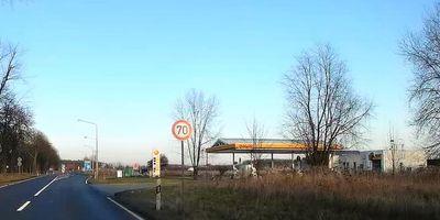 Shell Tankstelle Mittenwalde an der A13 in Mittenwalde in der Mark