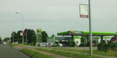 HEM Tankstelle in Schönefeld bei Berlin