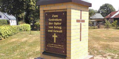 Denkmal für die Opfer von Krieg und Gewalt in Sophienthal in Sophienthal Gemeinde Letschin