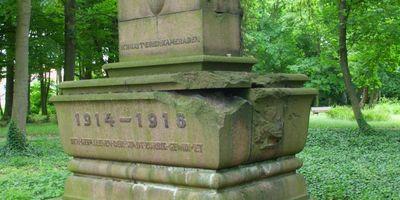 Deutsches Kriegerdenkmal Zörbig in Zörbig