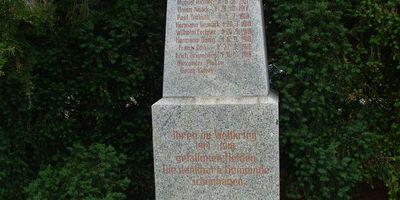 Deutsches Kriegerdenkmal Schönhagen in Schönhagen Stadt Trebbin