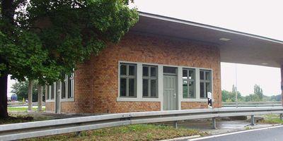 Baudenkmal/Technisches Denkmal Reichsautobahn-Tankstelle Fürstenwalde in Fürstenwalde an der Spree