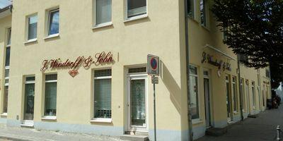 Wendorff u. Sohn Uhren u. Schmuckfachgeschäft in Bernau bei Berlin