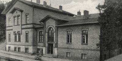 Bahnhof Briesen (Mark) in Briesen in der Mark