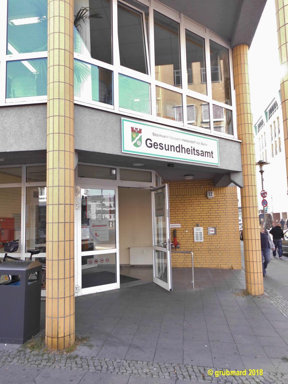 Rote Karte Gesundheitsamt Berlin.Marzahn Hellersdorf Gesundheitsamt 12627 Berlin