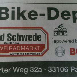Bild zu 2-Rad Schwede GmbH & Co. in Paderborn