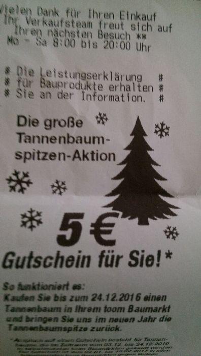 Baumarkt Tannenbaum.Toom Baumarkt Gmbh In Löhne In Das örtliche