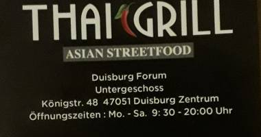 THAI GRILL ASIAN STREETFOOT in Duisburg