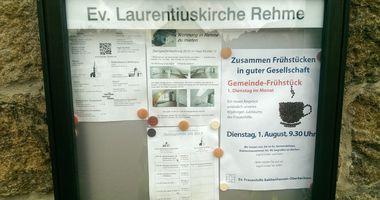 Evangelische Laurentiuskirche Rehme in Bad Oeynhausen