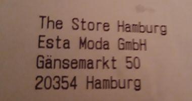 The Store Hamburg Esta Moda GmbH in Hamburg