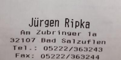 Ripka Jürgen Tankstelle in Werl Aspe Stadt Bad Salzuflen