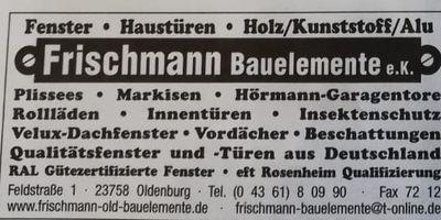 Frischmann Bauelemente e.K. in Oldenburg in Holstein