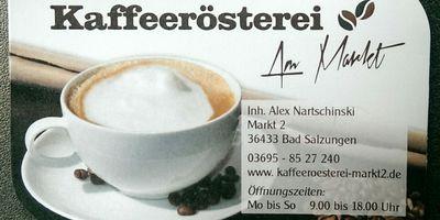Kaffeerösterei «Am Markt» in Bad Salzungen