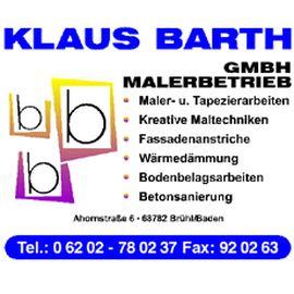 Barth Klaus GmbH Malerbetrieb in Oftersheim