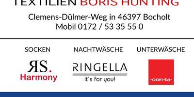 Hünting Boris Textilien in Bocholt
