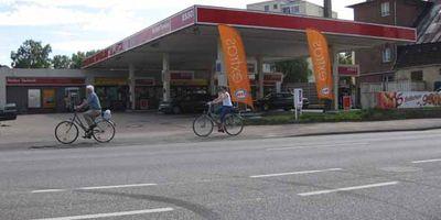 Esso Station Tankstelle in Elmshorn