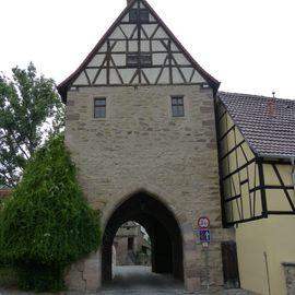 Mainbernheimer Tor in Iphofen