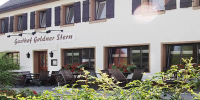 Goldener Stern in Heilsbronn
