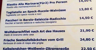Zur Sonne original italienische Fischspezialitäten Restaurant in Kaufbeuren
