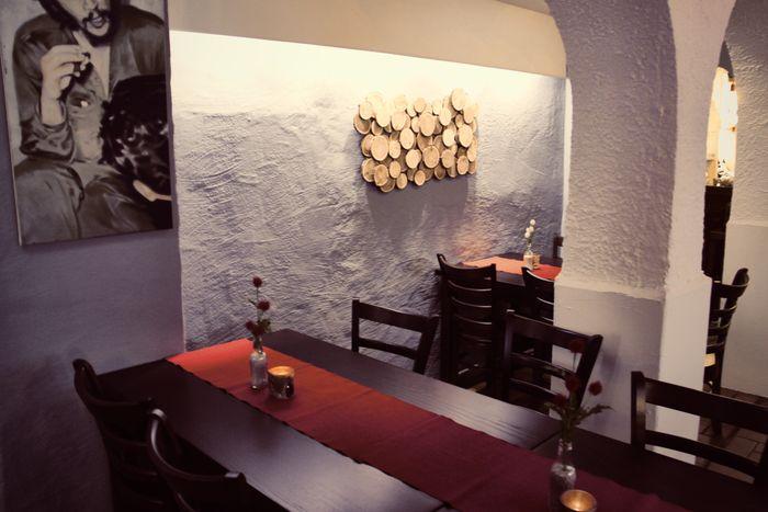 Bilder Und Fotos Zu Kamin Flammkuchen Restaurant In Mainz