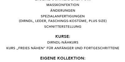 """Atelier """"FeinStich"""" Änderungsschneiderei in Amberg in der Oberpfalz"""