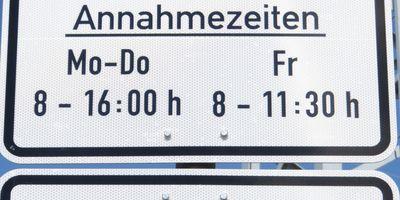 Sammelstelle für Grün- und Astschnitt (Containerstandplatz) – Betriebshof des Kommunalservice Apolda in Apolda