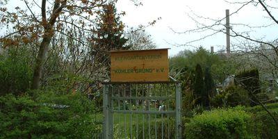 Kleingartenverein »Kühler Grund« in Apolda