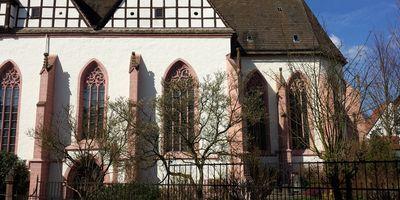Klosterkirche und Martiniturm in Blomberg Kreis Lippe