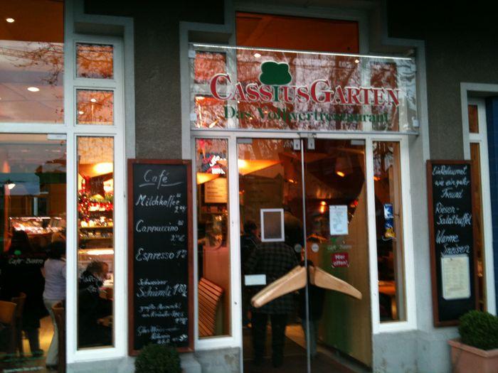 Cassius Garten Sb Vollwertrestaurant In Der Cassius Bastei Ggü