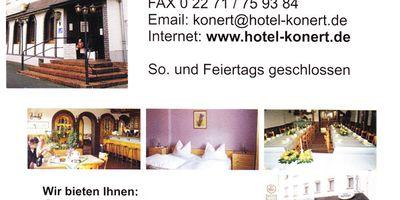 Hotel Restaurant Konert in Bergheim an der Erft