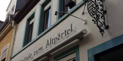 Weinstube Altpörtel in Speyer