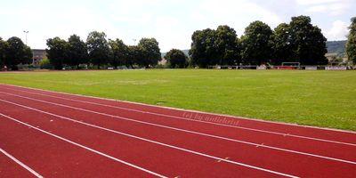 Stadion 'an der Wipper' in Bad Frankenhausen am Kyffhäuser