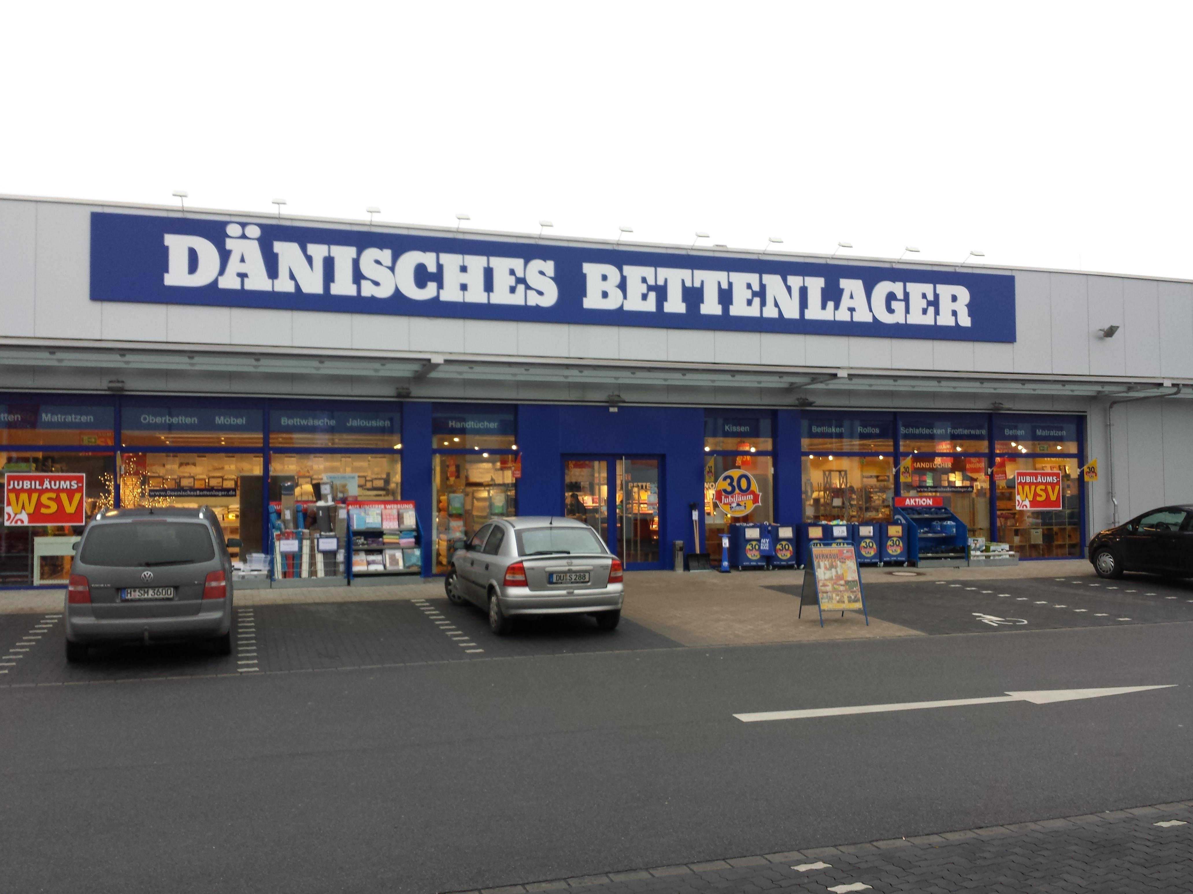 Dänisches Bettenlager 47269 Duisburg Großenbaum öffnungszeiten