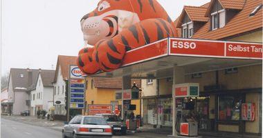 Esso Station Herbert Hentschel in Teublitz