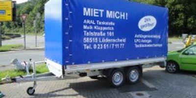 Anhängervermietung Aral Brügge Maik Klapperich in Lüdenscheid