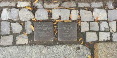 Stolpersteine Familie Guttmann in Stralsund
