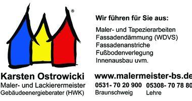 Karsten Ostrowicki Maler- und Lackierermeister in Braunschweig