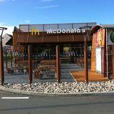 McDonald's Restaurant in Chemnitz in Sachsen
