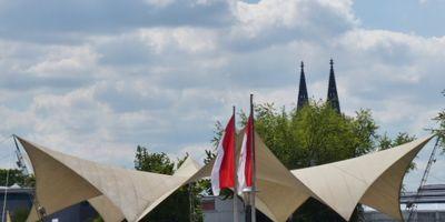 Tanzbrunnen in Köln