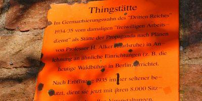 Thingstätte in Heidelberg