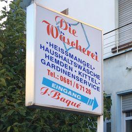 Die Wäscherei Baqué in Saarbrücken