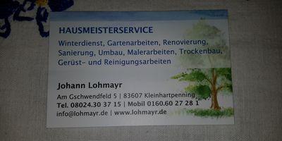 Lohmayr Johann Hausmeisterservice in Holzkirchen