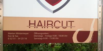 Haircut Inh. Marion Wintermeyer Friseur in Paderborn