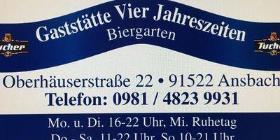 Vier Jahreszeiten Restaurant in Ansbach
