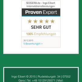 SEOGERA - Ingo Eibert Internetdienstleistungen in Gera