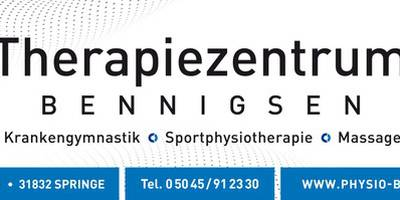 Therapiezentrum Bennigsen - Praxis für Physiotherapie und Rehabilitation in Bennigsen Stadt Springe