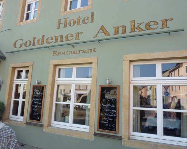 bilder und fotos zu restaurant hotel goldener anker in. Black Bedroom Furniture Sets. Home Design Ideas
